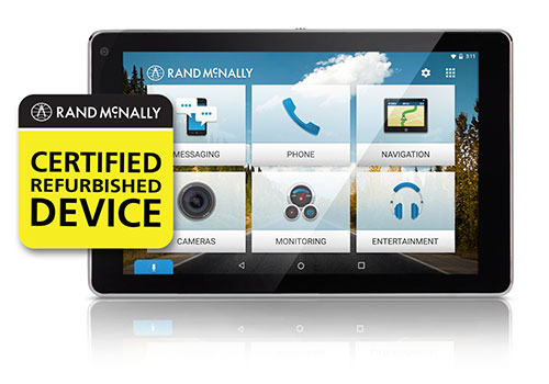 Rand Mcnally Certified Refurbished Devices