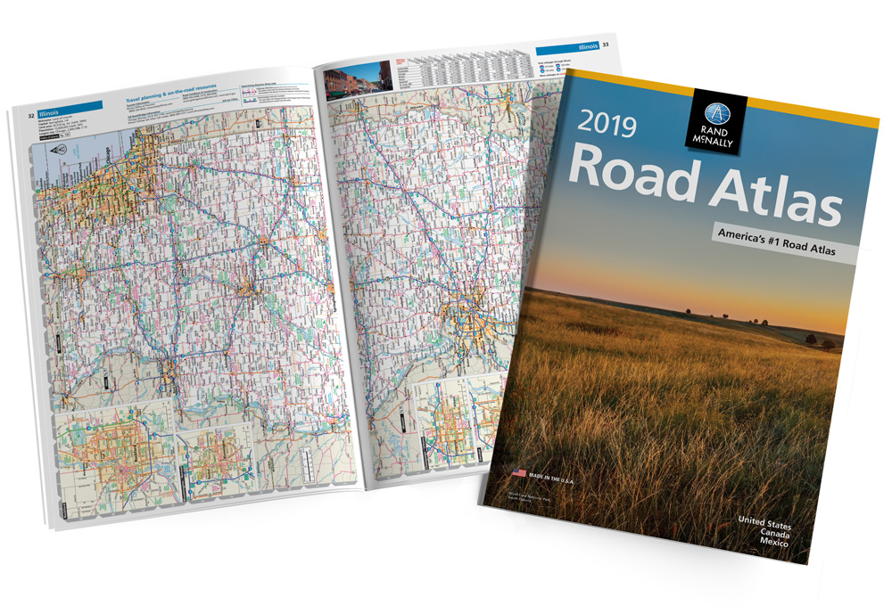 Rand Mcnally Gps >> Rand McNally 2019 Road Atlas